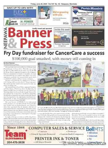 Friday, June 26, 2020 Neepawa Banner & Press - myWestman.ca