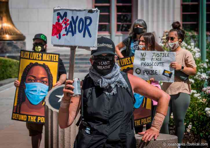 Black Lives Matter Seeks Emergency Order Banning LAPD From Using Rubber Bullets, Batons On Protesters