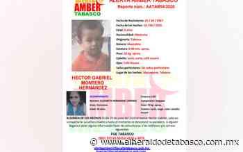 #AlertaAmber | ¿Los has visto? Desaparecen madre e hijo en Macuspana - El Heraldo de Tabasco