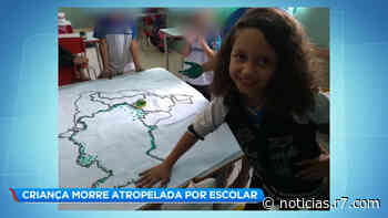 Criança morre atropelada por ônibus escolar em Sarzedo (MG) - Record TV
