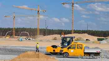 Bauwesen scheint stabil:Auftragslage verbessert sich trotz wirtschaftlicher Unsicherheit - n-tv NACHRICHTEN