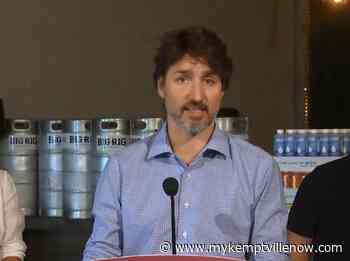 PM says Canada almost self-sufficient in PPE production - mykemptvillenow.com