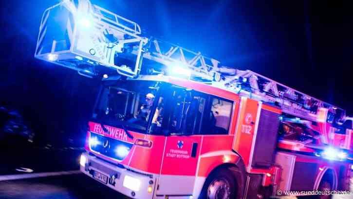 Oberkirch: Polizei ermittelt nach Feuer wegen Brandstiftung - Süddeutsche Zeitung