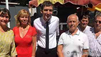 Municipales à Bagnols : Julien Sanchez, le maire de Beaucaire, apporte son soutien à Corine Martin - Midi Libre
