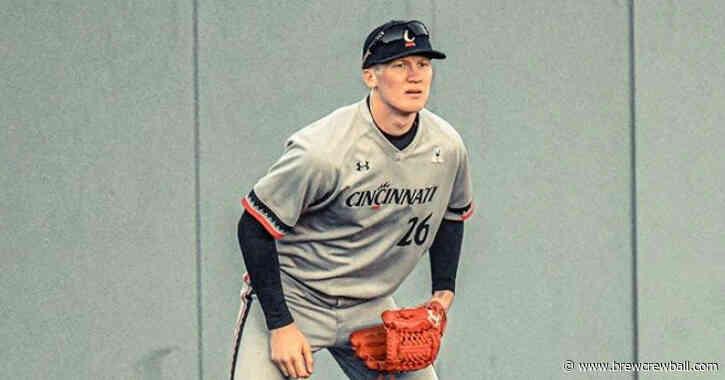 Meet Joey Wiemer, 4th-round draft pick of the Milwaukee Brewers