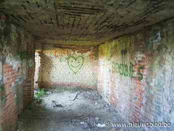 """Oorlogsbunker besmeurd met graffiti: """"Van historisch erfgoed... (Sint-Laureins) - Het Nieuwsblad"""