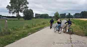 Schade aan gehavende Rode Handstraat wordt hersteld (Sint-Laureins) - Het Nieuwsblad