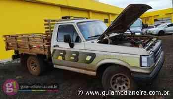 Céu Azul: F-1000 furtada é recuperada pela Polícia Civil - Guia Medianeira
