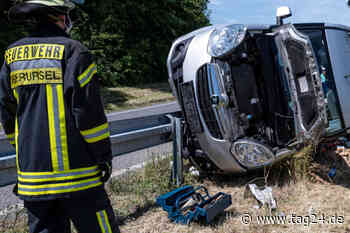 Unfall bei Oberursel: Transporter-Fahrer verletzt, doch er will nicht in Klinik - TAG24
