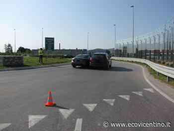Primo incidente in prossimità del casello di Malo a San Tomio: scontro tra due auto - L'Eco Vicentino