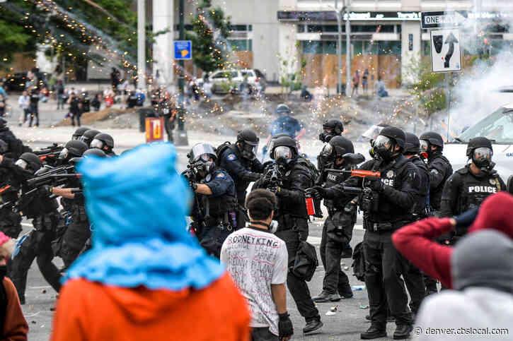 Damage Estimate From Denver Protests Eclipses $1 Million