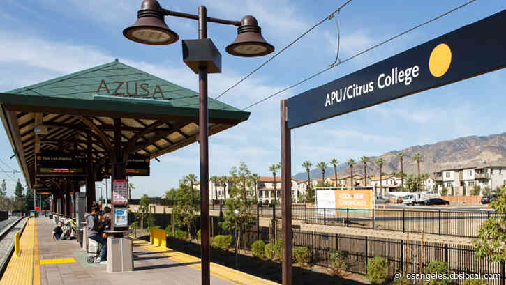 Man's Body Found At Last Stop Of Metro Gold Line In Azusa