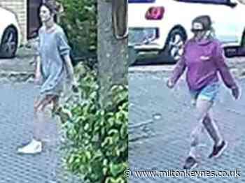 CCTV released of women police want to speak to after Milton Keynes burglary - Milton Keynes Citizen