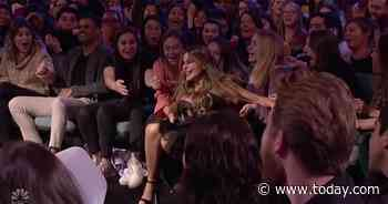 Sofia Vergara falls into crowd after 'AGT' performance - Today.com