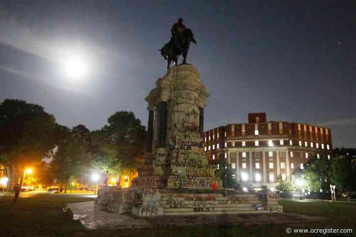 Let's have fewer statues and less public mayhem