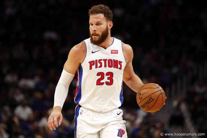 Pistons Notes: Weaver, Draft, Griffin