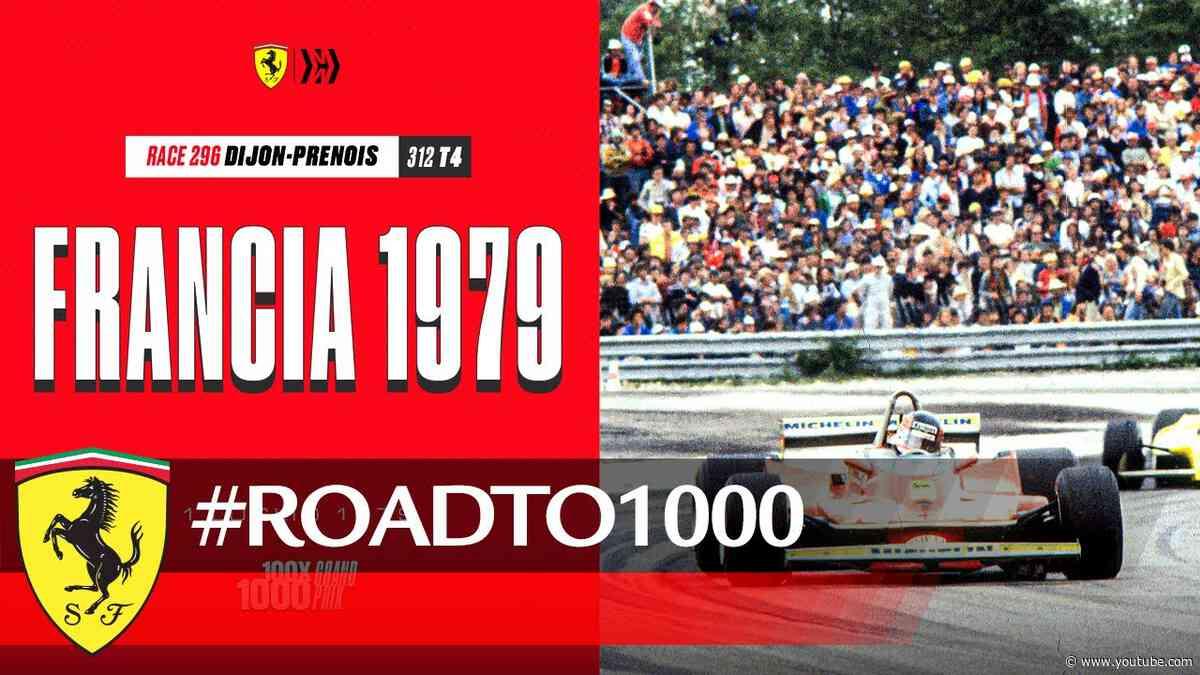 #RoadTo1000 - French GP 1979