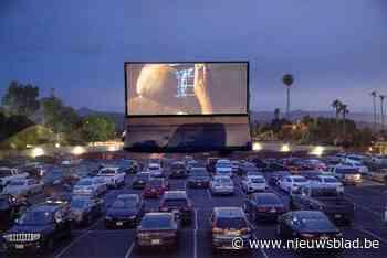 Tickets drive-in cinema op enkele uren uitverkocht - Het Nieuwsblad