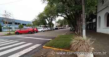 Santa Cruz do Sul inicia obra de revitalização do Calçadão no Centro - Jornal Correio do Povo