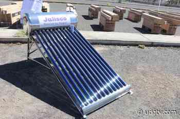 Entregan 250 calentadores solares en Atotonilco El Alto - UDG TV