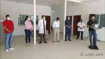 Muestran avances en remodelación del Centro de Salud de Atotonilco el Alto - UDG TV