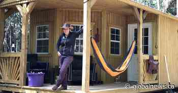 N.B. woman downsizes into tiny home off the grid during coronavirus pandemic