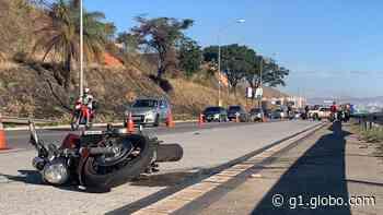 Acidente na MG-10, em Vespasiano, deixa um morto e um ferido - G1