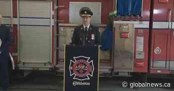 Mental health, diversity among focuses of Edmonton's new fire chief