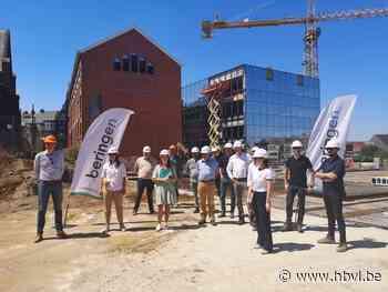 Bouw nieuw stadhuis Beringen op kruissnelheid - Het Belang van Limburg