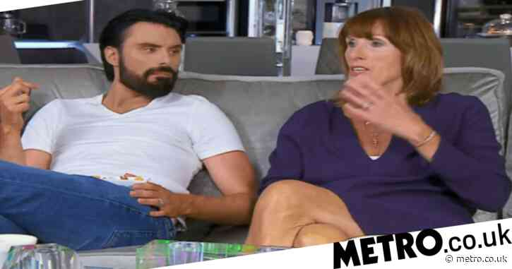 Celebrity Gogglebox viewers in stitches after Rylan Clark-Neal tries to explain social-distancing to mum Linda: 'You're in my bubble'