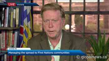 Managing the spread of COVID-19 to B.C. First Nation communities