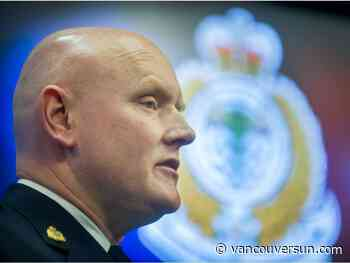 Dan Fumano: Systemic racism not evident in Canadian policing, VPD chief says. Critics disagree