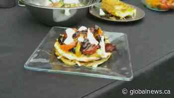 BBQ Tips:  Grilled vegetarian tostadas