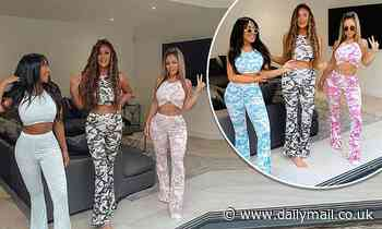 Charlotte Crosby, Holly Hagan and Sophie Kasaei get together