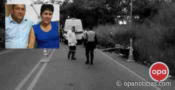 Trágico accidente de pareja de esposos en la vía Campoalegre - Opanoticias