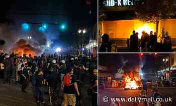 Portland is 'war zone' during violent night of anti-police protests