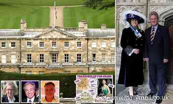 Earl accuses interior design pair who inherited most of £33m family fortune of flogging his history