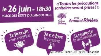 PEZENAS - Retrouvons-nous le 26 juin 2020 à 18h30 sur la Place des Etats du Languedoc - Hérault-Tribune