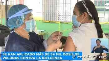 Provincias Habrá auto rápido de vacunación contra la influenza en Dolega - TVN Panamá