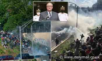 Philadelphia mayor and police apologize for using force on protesters and ban tear gas