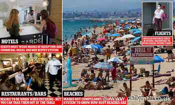Families CAN book summer getaways as air bridges open and travel operators slash prices by 70%
