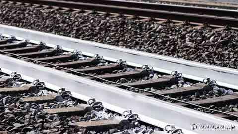 Jugendlicher schlief bei Kirn im Gleisbett - SWR