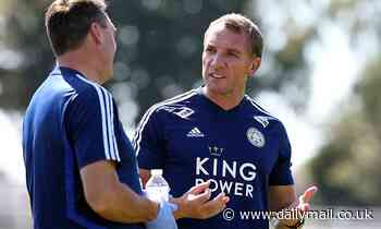 Brendan Rodgers is NOT worried about Leicester's faltering bid to qualify for the Champions League