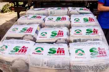Pinheiral recebe 150 cestas básicas do Floresta Supermarket - Diario do Vale