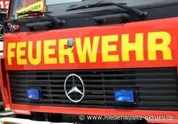 Mülltonnenbrand in Finsterwalde - NIEDERLAUSITZ aktuell