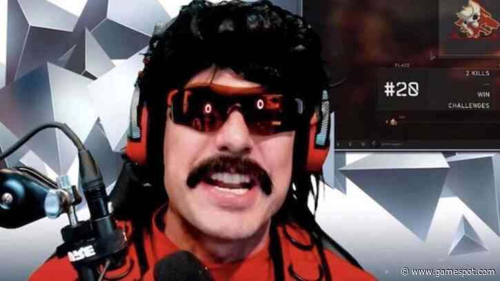 Dr. Disrespect Banned From Twitch, Reportedly For Good