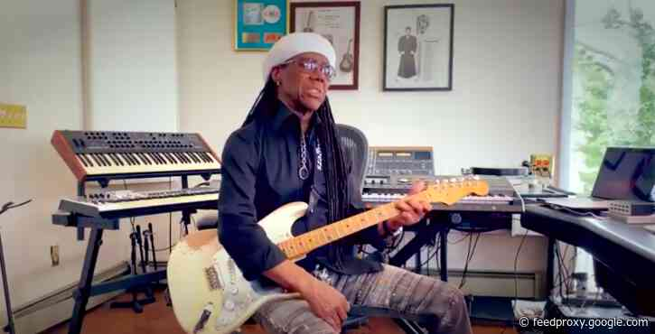 """Nile Rodgers Tells the Story of How He Turned David Bowie's """"Let's Dance"""" from Folk to New Wave Funk"""