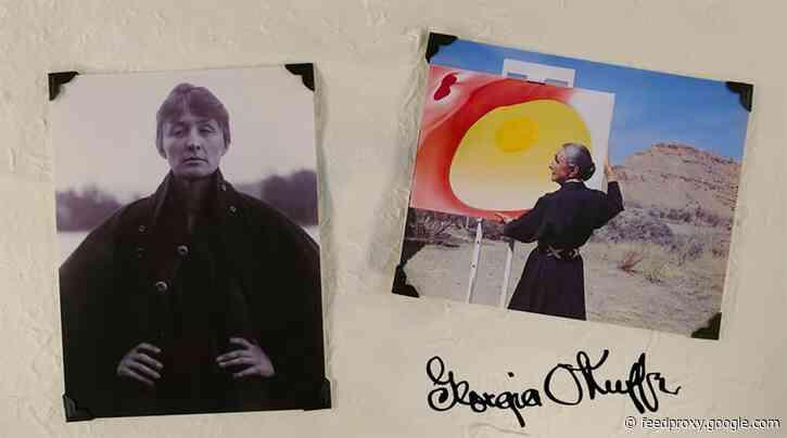 How Georgia O'Keeffe Became Georgia O'Keeffe: An Animated Video Tells the Story