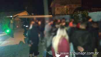 Festa clandestina em Matinhos é interrompida pela polícia - Tribuna do Paraná