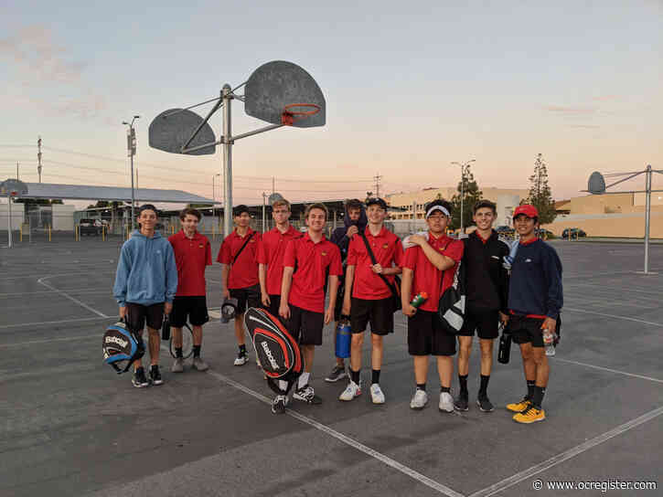 Spring wrap-up Q&A: Mission Viejo tennis coach inspired by marathon match with El Toro